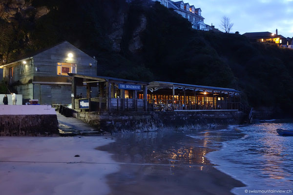 Restaurant Bootshaus in Newquay