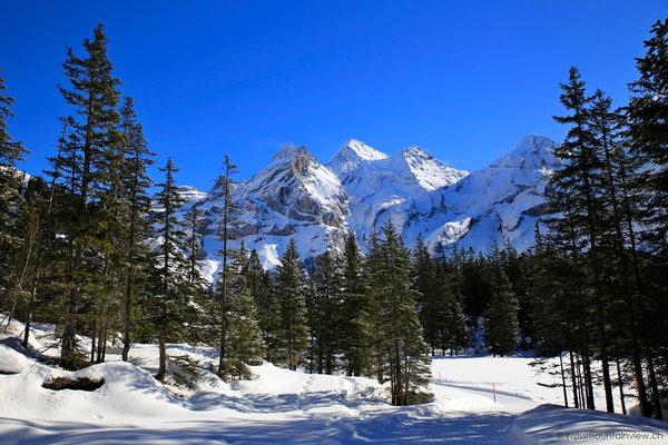 Eine traumhafte Landschaft. Im Sommer war ich schon mehrmals hier - aber im Winter ist es ebenso schön!