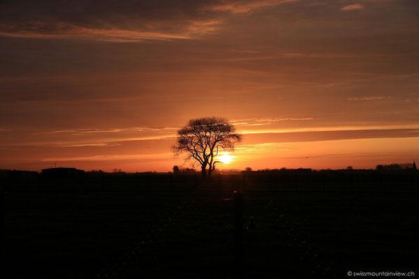 Sonnenaufgang in Ostende