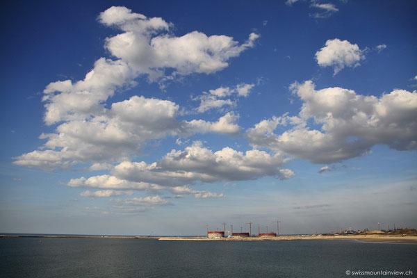 Anfahrt auf Dunkerque