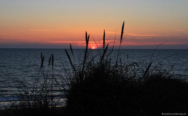 Sunset in Kampen.