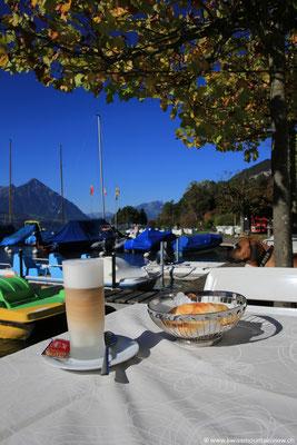 Coffeetime beim Neuhaus in der Nähe von Interlaken