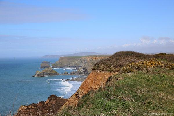 Küste nördlich von Hayle, Cornwall