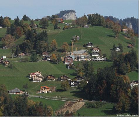 Sicht vom Beatenberg hinüber zur Waldegg