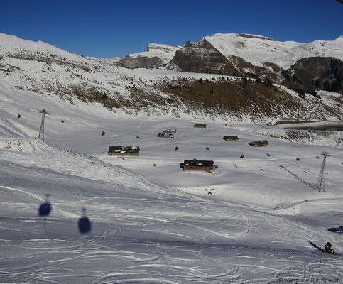 Die Fahrt von Grindelwald hinauf auf den Männlichen dauert rund 45 Min.