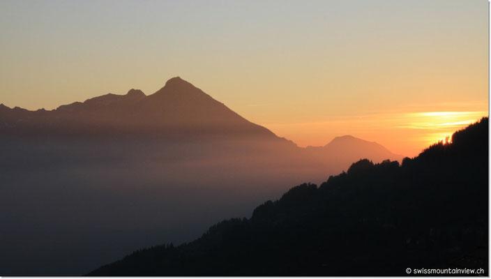 Man merkt aber, dass es Herbst wird. Die Sonne verabschiedet sich bereits um 18.30 Uhr.