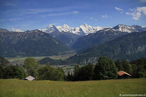 Waldegg - Amisbühl - Blick hinunter nach