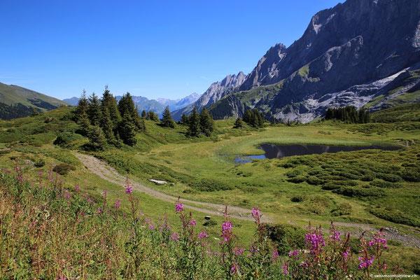 Richtung Grosse Scheidegg