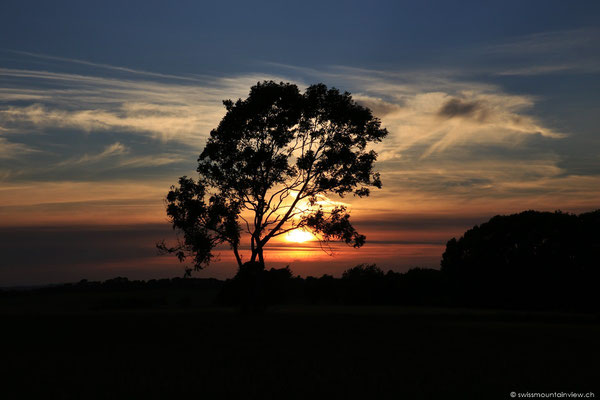 Den Sunset in Denmark