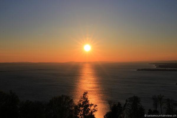 Sunset von Lochau am Pfänder