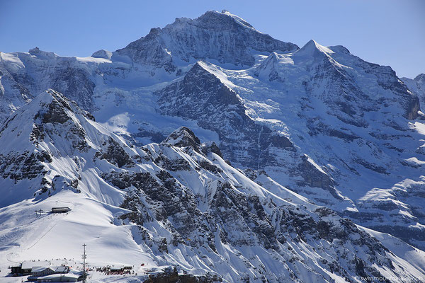 Spaziergang auf den Gipfel.