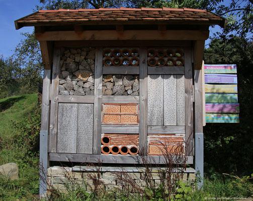 Insektenhaus am Ilmensee