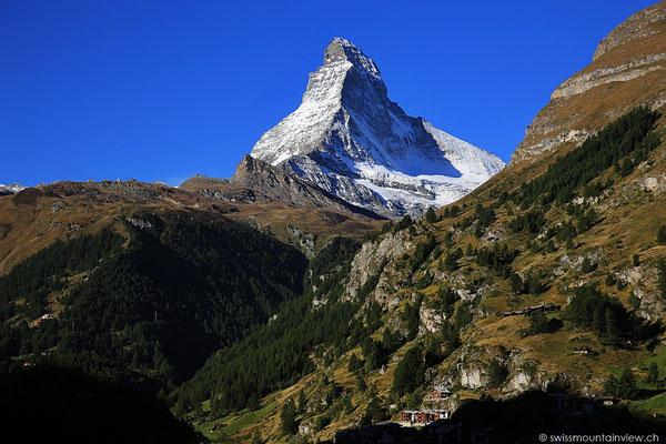 Matterhorn, leider sind die Tage in Zermatt schon wieder vorbei und es geht weiter Richtung Aletschgebiet
