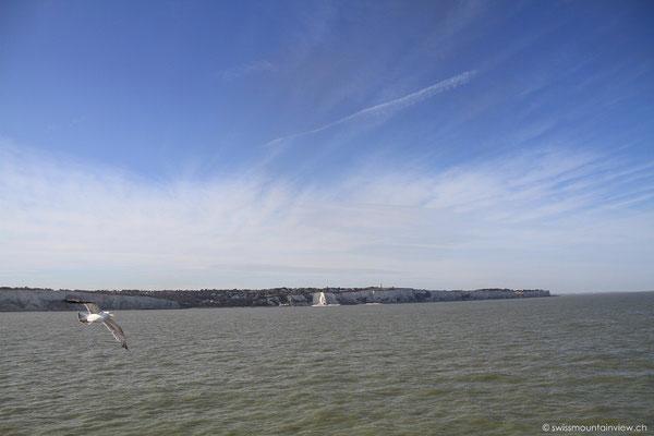 zwischen Dover und Dunkerque