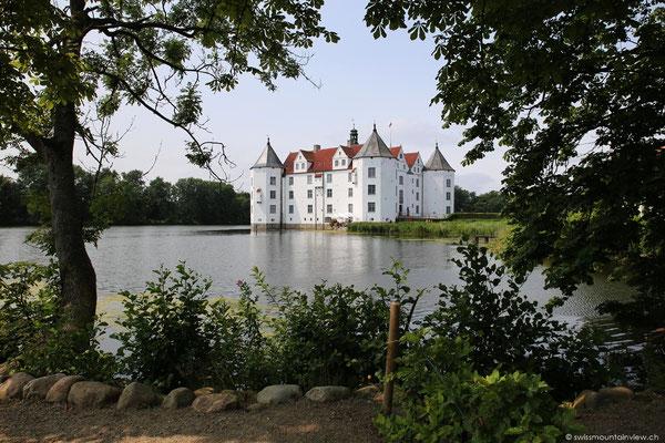 Das Schloss Glücksburg.