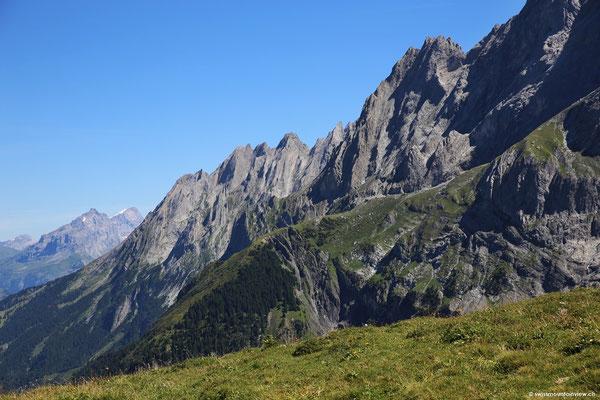 spaziere ich Richtung Grindelwald-First und lasse meinen Blick mal hier
