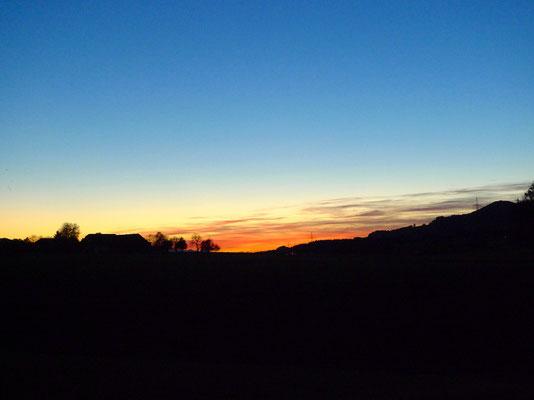 Sonnenuntergang Gitzen