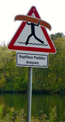 kopflose Paddler