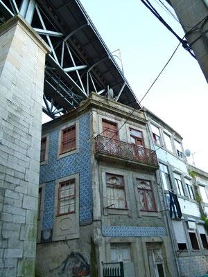 Morbide Gegend von Porto
