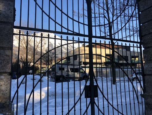 Übernachtungsplatz beim Hofgarten