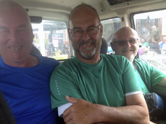 Hans, Pit und Bert aus Holland