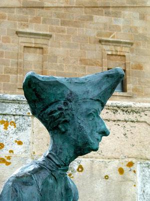 Statue eines englischen Soldaten