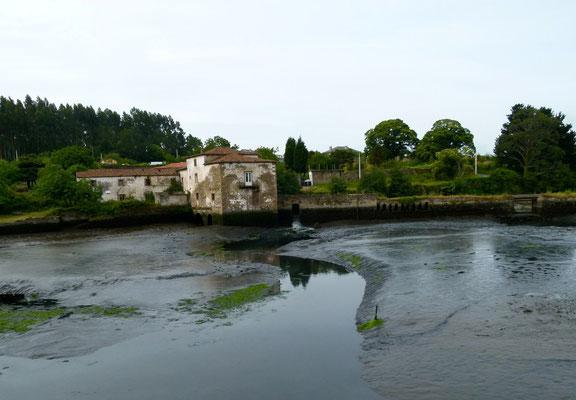 Wassermühle am Fluss Xubia Naron.