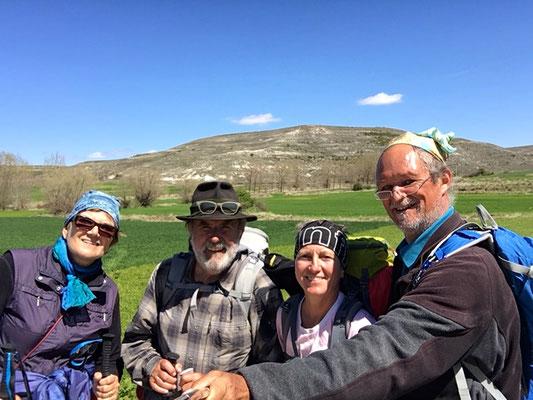 Unterwegs mit Margit und Poul aus Dänemark