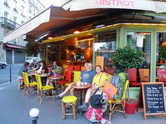 Ein letztes Bierchen in Paris