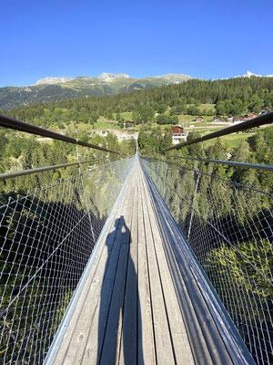 Hängsbrücke Bellwald