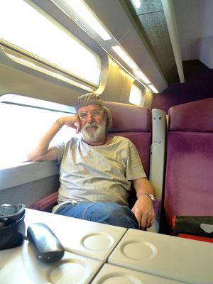 Rückreise nach Paris