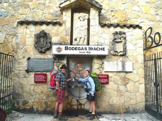 Fuente del Vino Bodegas Irache