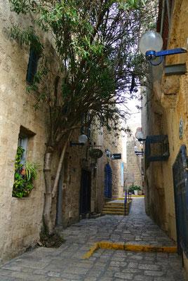 Gässchen in Old Jaffa