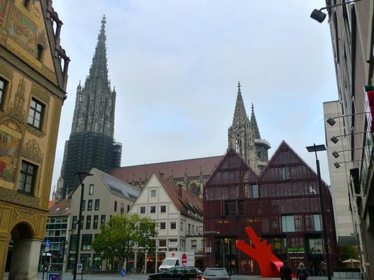 Münster zu Ulm von unten