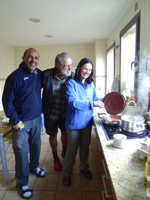 Kochen mit Eleonora und Angelo aus Rom