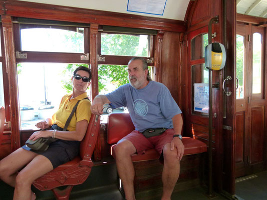 Straßenbahnfahrt durch Porto