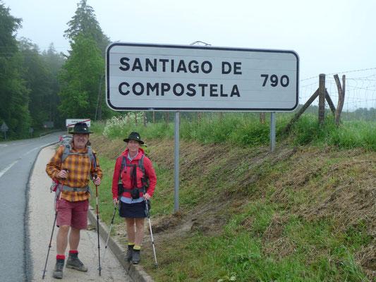In Roncesvalles haben wir noch einige Kilometer vor uns