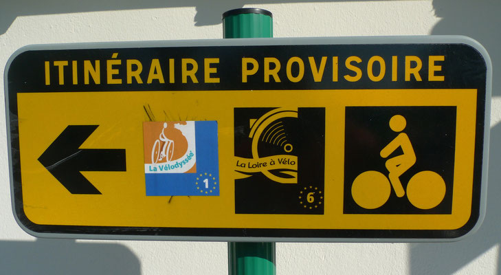 provisorischer Weg