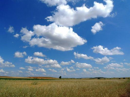 Himmel über der Meseta