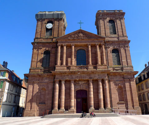 Cathedral Saint-Christophe in Belfort