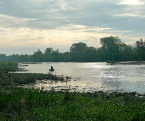 Fischer am Morgen