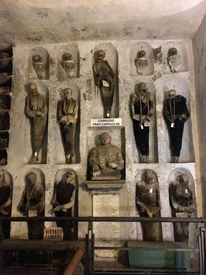 Katakomben des Kapuzinerklosters