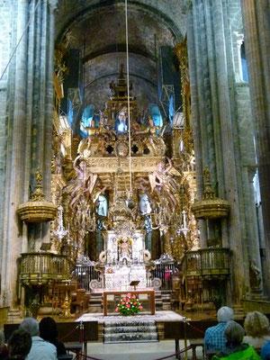 Altar in Santiago
