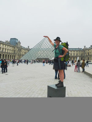 Traudl macht den Louvre klein