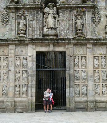 Dieses Tor war 2010  offen ( Heiliges Jahr) Kathedrale