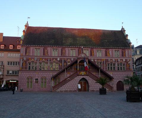 Rote Rathaus von Mulhouse