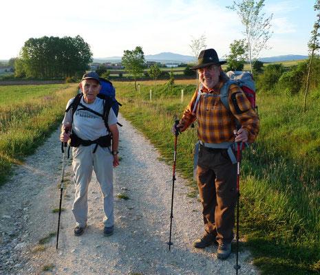 Santiago 84 Jahre und zum elften Mal am Camino