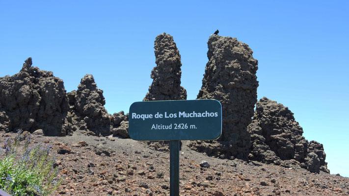 Roque de los Muchachos 2426m NN