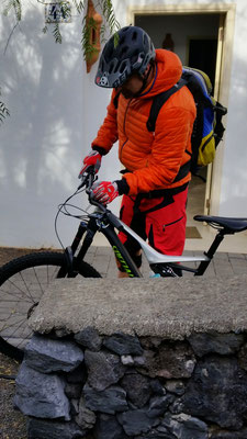 Allmorgentlicher Bike+Navi-Check