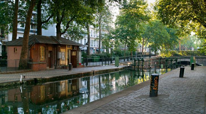 Paris, Canal St Martin